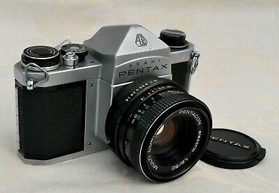 Pentax S1a 35mm SLR with 50mm f1.8 lens, (fully working).