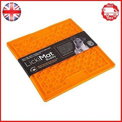 LICKIMAT Buddy Treat Mat for Dogs Cats Lick Treat Mats Assorted Colors New UK