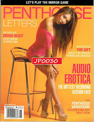 Penthouse Letters November 2018, Brand New Factory Sealed, With Free Web Access