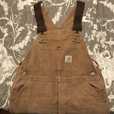 Cahartt Ladies Small Dugarees Size 6/8/small 10