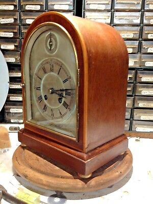 Small Arched case Bracket clock .....westminster chimes