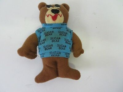 "Post General Foods Sugar Bear Plush Toy Approx 4.5"" Tall   #8198"
