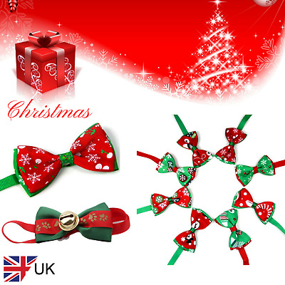 Christmas bows for pets - cats/dogs/puppy/kitten
