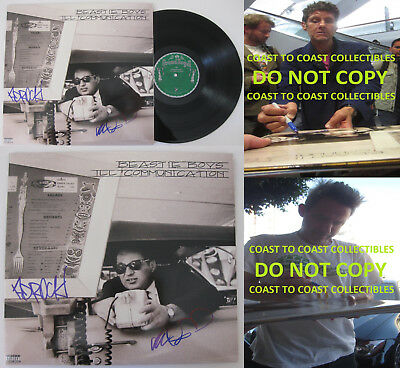 Beastie Boys signed autographed Ill Communicatior Album,Vinyl Record,Exact Proof