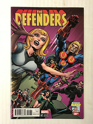 Defenders #1 - 1:10 Variant! VF - Jack Kirby Cover!