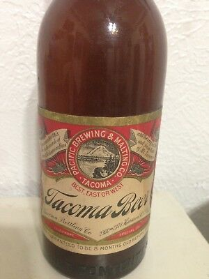 Tacoma Beer Bottle..pre Prohibition...