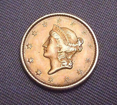 1851 United States $1.00 Liberty Head Gold Coin | High Quality