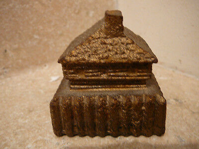 S2 Vintage Fort Snelling Cast Iron Souvenir Paperweight St Paul Mn Military Base