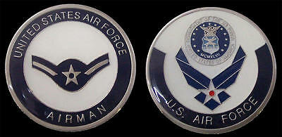 Us Air Force Airman E2 Rank Challenge Coin Military Collectible Coins