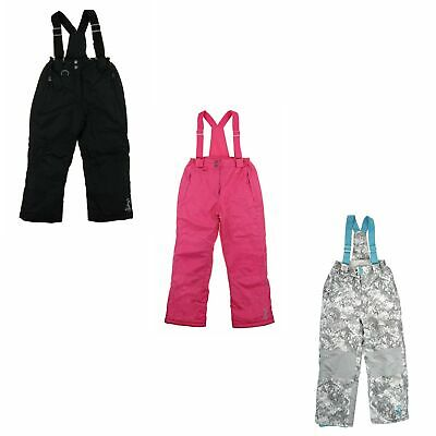 32 Degrees Weatherproof Insulated Overall Snow Bib Pants for Girls