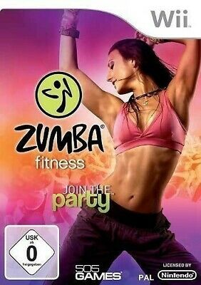 Nintendo Wii Spiel - Zumba Fitness 1: Join the Party nur Software mit OVP