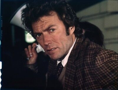 ORIGINAL Warner Bros 4X5 transparency MAGNUM FORCE DIRTY HARRY Clint Eastwood