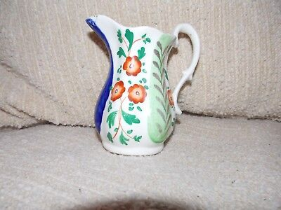 Small Gaudy Welsh jug unknown pattern