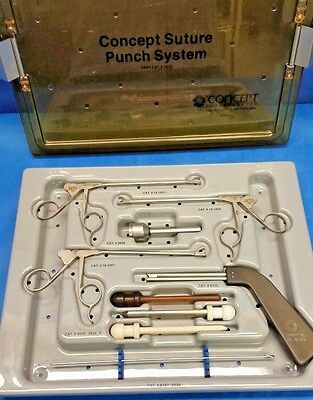 Concept Shutt Linvatec Suture Punch System w/ Custodia, Surgical