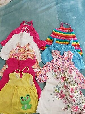 Girls spring and summer dresses clothes bulk bundle lot play