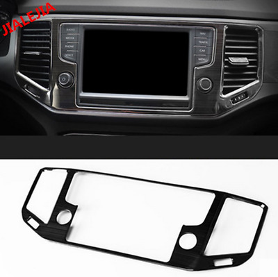 Fits; Volkswagen Tiguan Center Console Trim Titanium Black 5N0863289 82V