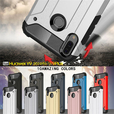 For Huawei Y9 2019 Shockproof Kickstand Hybrid Armor Hard Back Case Cover New