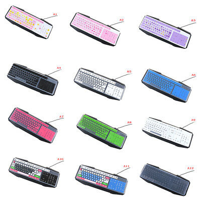 1PC colorful silicone universal desktop computer keyboard cover skin protector &