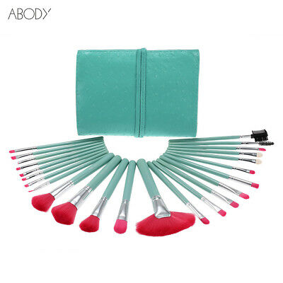 Abody 24Pcs Makeup Brushes Kit Professional Cosmetic Makeup Set With Case Q5L5