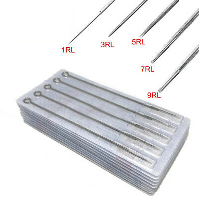 1/3/5/7RL Professional Sterile Medical Tattoo Needles Round Liner Tattoo Supply