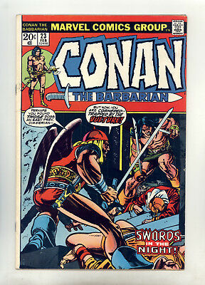 Conan the Barbarian #23 FN Barry Smith, Gil Kane, 1st Red Sonja