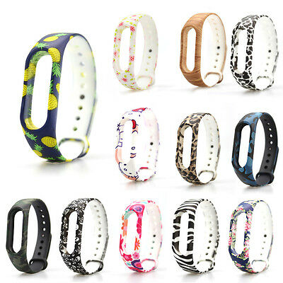 For Xiaomi Mi Band2 Replacement Wristband Wearable Wrist Silicone Strap Bracelet