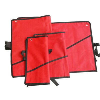 Wrench Bag Tool Roll Storage 8/12/14Pocket Tools Pouch Case Organizer Holder Kit