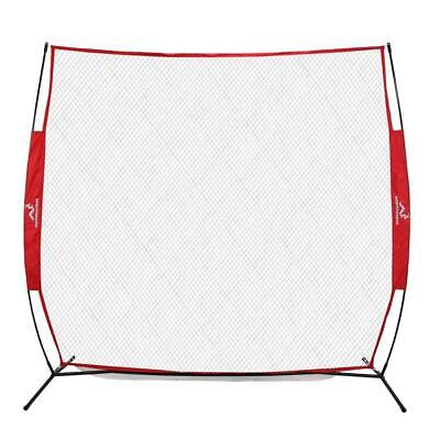 Wodoworm 2.2m x 2.2m Quick Up Sports Bow Frame and Practice/Protective Net