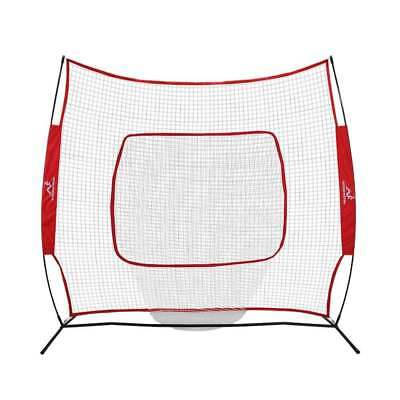 Woodworm Baseball and Softball 2.2m x 2.2m Practice Net - with Carrying Case