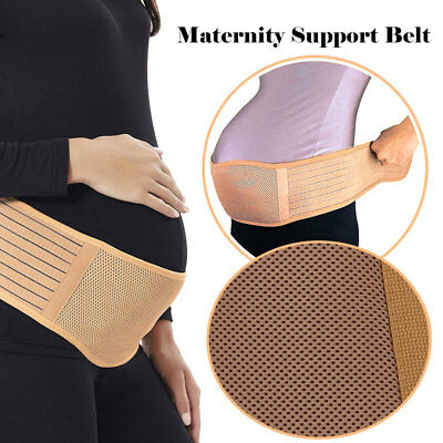Maternity Pregnancy Support Belt Lower Back Bump Brace Belly Band Waist Lumbar