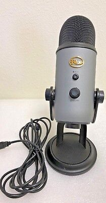 Blue Microphones Yeti Professional USB Condenser Microphone -Slate