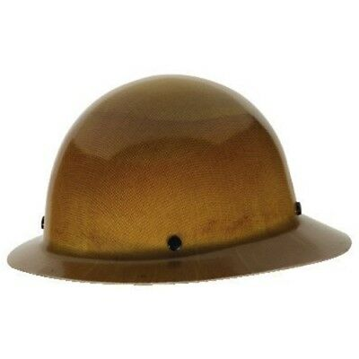 Mine Safety Appliances Company 475407 skullgard tan flbrim ratche w/fastrac susp