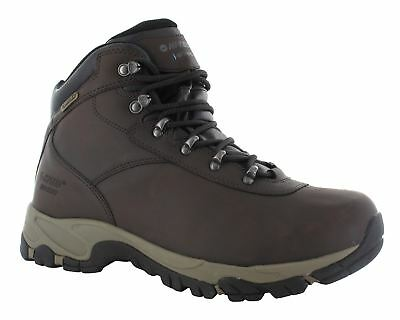 Hi Tec Altitude VI WP Mens Brown Waterproof Walking Hiking Leather Lace Boots
