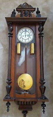 Large Vienna Regulator Wall Clock
