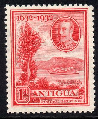 Antigua 1d Stamp c1932 Mounted Mint