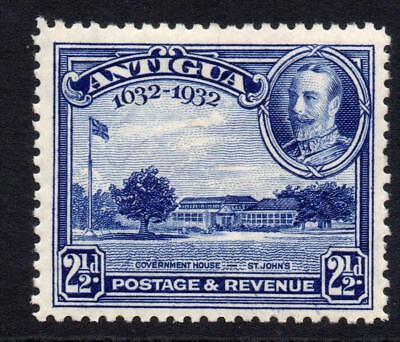 Antigua 2 1/2d Stamp c1932 Mounted Mint