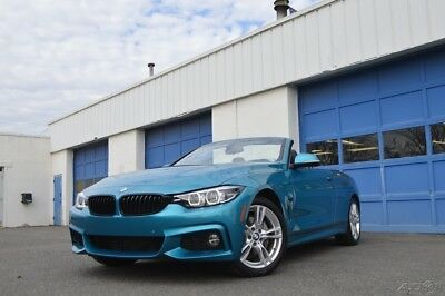 2018 BMW 4-Series i xDrive Premium Leather Lane Keeping Nav Rear Cam Neck Warmers HK Audio & More Excellent