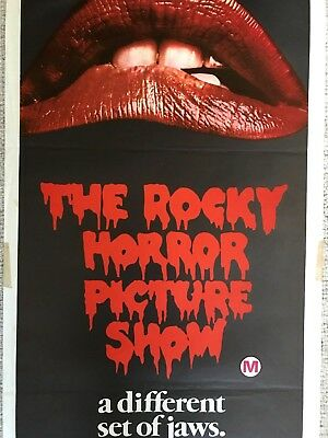 The Rocky Horror Picture Show 1975 Original Movie Poster Australian