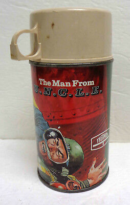 Vintage 1966 Thermos Brand TV Show Man From Uncle Thermos!