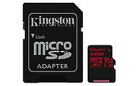 Kingston Technology SDCR/64GB 64GB MICROSDXC CANVAS REACT