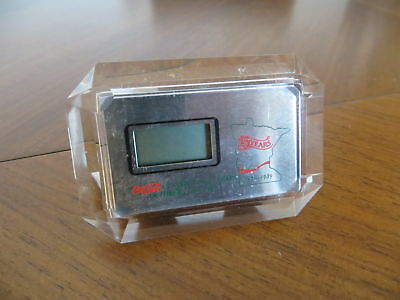 Alte Coca-Cola Tischuhr 80er Digitaluhr Uhr watch clock 1989