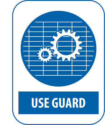 Foot Protection V2 Mandatory Work Place Warning Signs Safety Blue A6 A5 A4 A3
