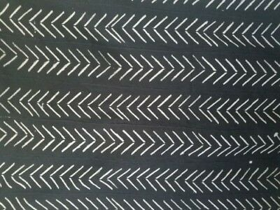 Authentic African Handwoven Bambara Mud Cloth From Mali West Africa