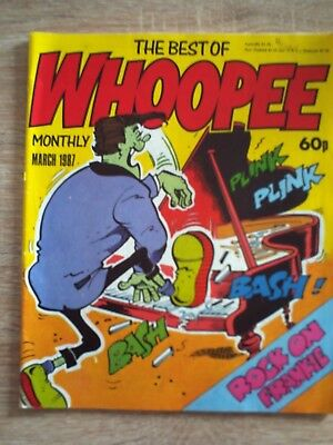 Best Of Whoopee Monthly. March 1987.
