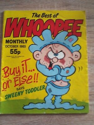 Best Of Whoopee Monthly. Oct 1985