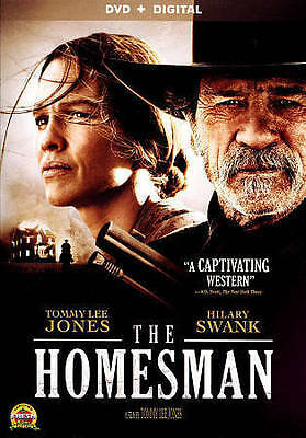 The Homesman DVD ~ Digital ~ Tommy Lee Jones Hillary Swank R Rated ~ Lionsgate
