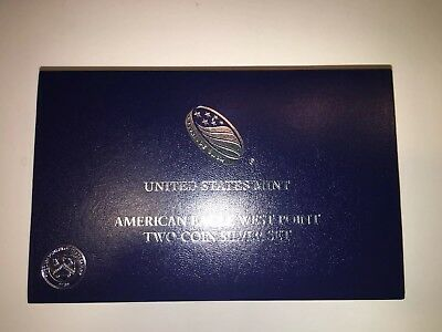 U. S. Mint 2013-W American Eagle West Point Two-Coin Silver Set (S 40)
