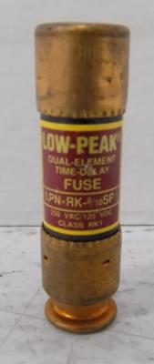 Bussmann 8/10A 250Vac Low-Peak Fuse Lpn-Rk-8/10Sp