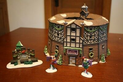 """Department 56 Dickens Village """"the Old Globe Theatre"""""""