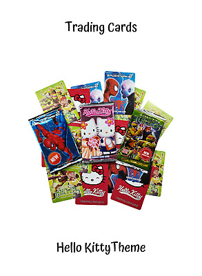 Trading Cards - Childrens Toy Game - Hello Kitty - 8 Card Pack